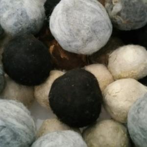 Fiber - dryer balls