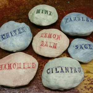 Pottery - Garden markers