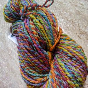 Fiber - yarn, handspun