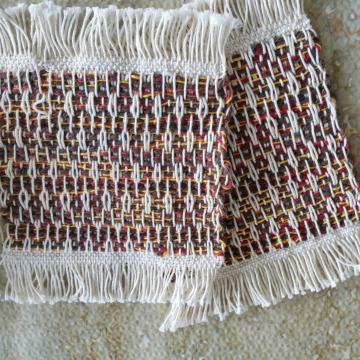 Mug rugs, set #9