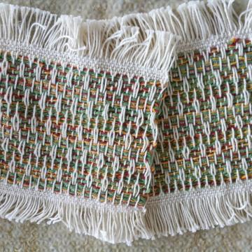 Mug rugs, set #14