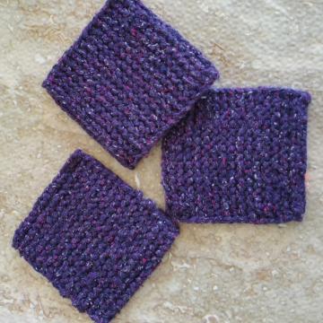 Mug rugs, set #18