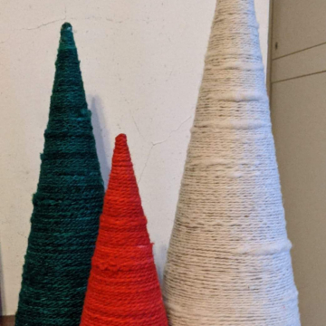 Festive trees - set of 3