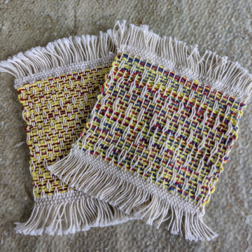 Mug rugs, set #6